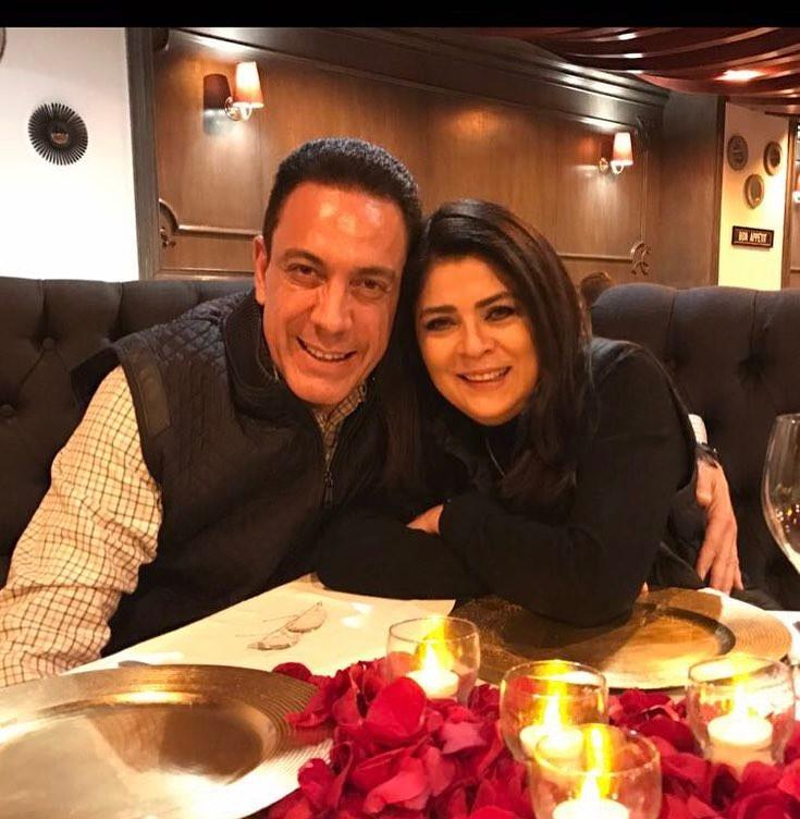 Виктория Руффо и её муж Омар Файяда