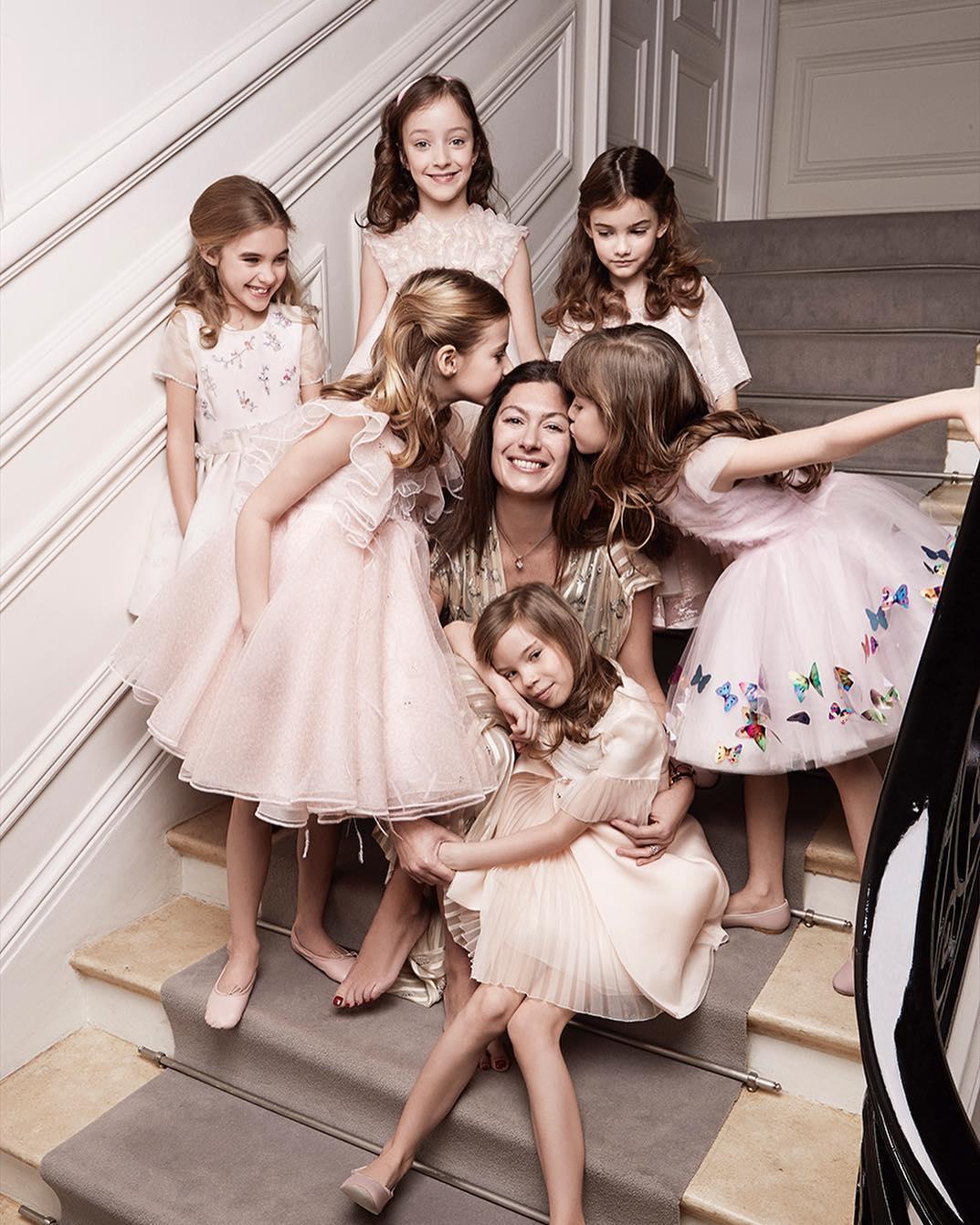 Корделия де Кастеллан и модели Baby Dior
