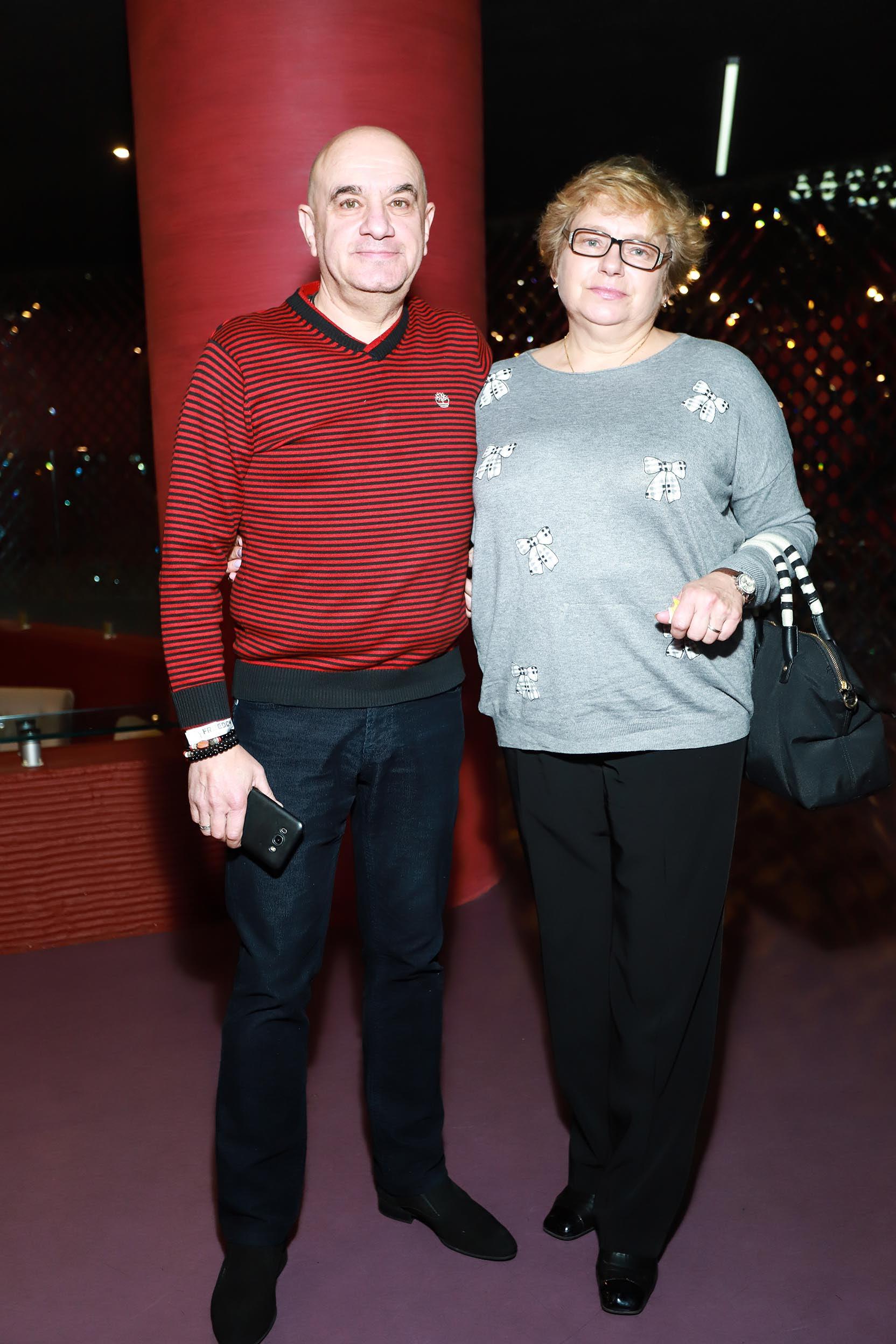 Дмитрий Оскин с женой