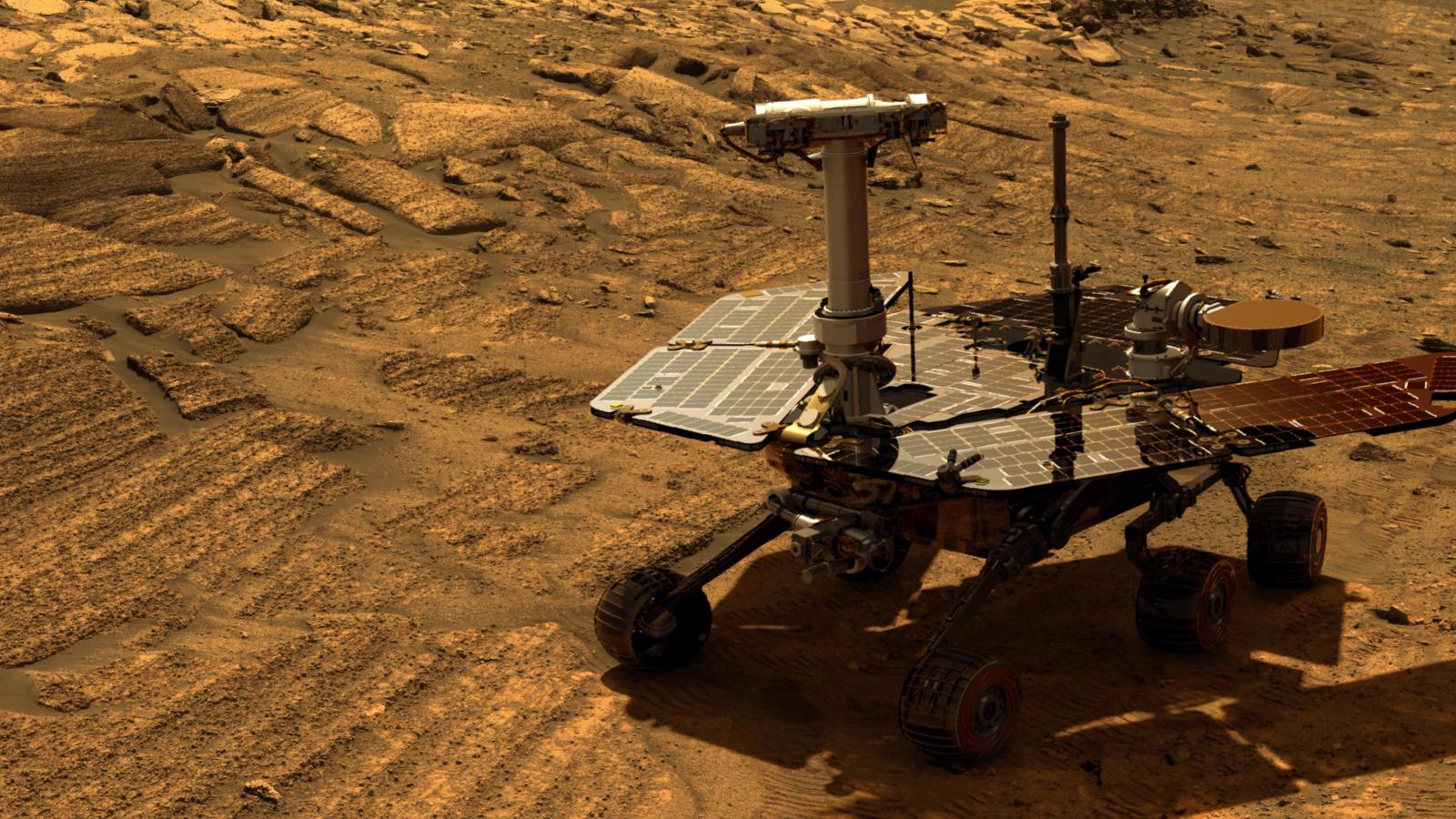 NASA потеряло марсоход Opportunity