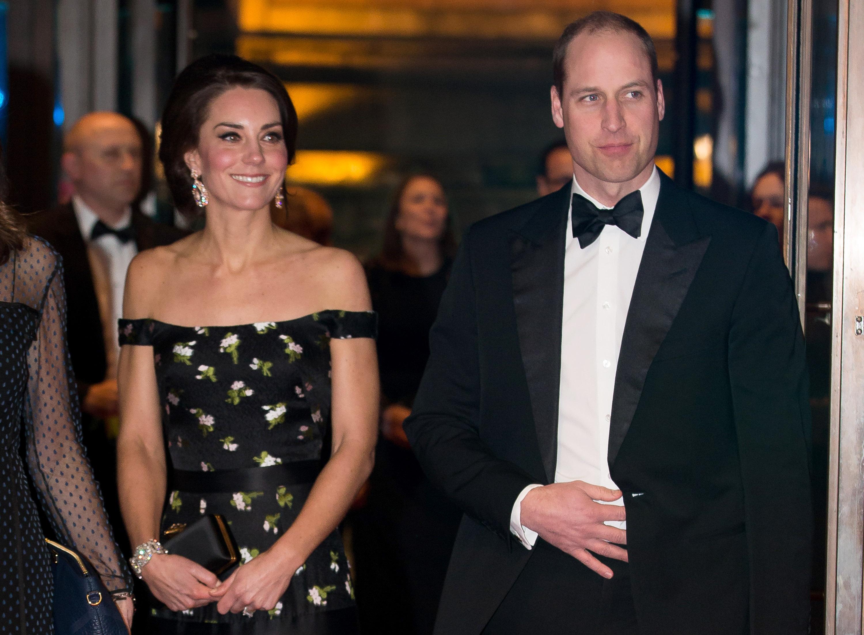 Кейт Миддлтон и принц Уильям побывали на заключительном дне Уимблдона